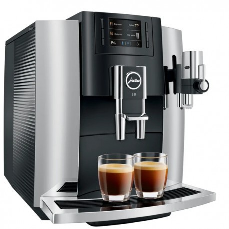 JURA E8 Espresso Machine - Chrome