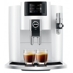 JURA E8 Espresso Machine - White