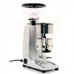 Quamar M80 Dosing Espresso Grinder With Timer In Silver